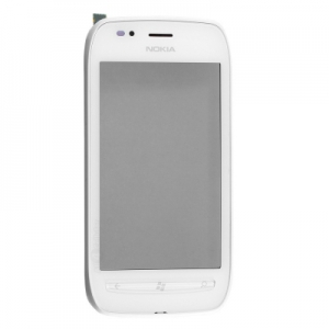 Dotyková deska Nokia 710 Lumia + přední kryt bílá