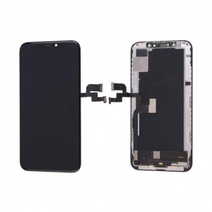 Dotyková deska iPhone XS (5,8) + LCD černá OLED Class A