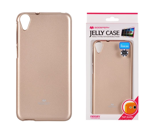 Pouzdro MERCURY Jelly Case Samsung G965 Galaxy S9 PLUS zlatá