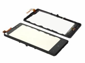 Dotyková deska Nokia 820 Lumia + rámeček černá