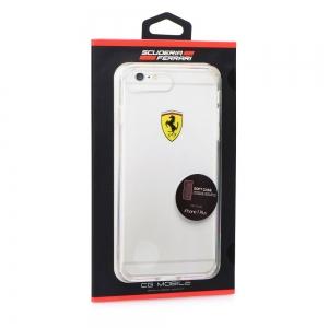 Pouzdro Ferrari iPhone 7 PLUS, 8 PLUS (5,5) Hardcase FEHCP7LTR1 transparentní