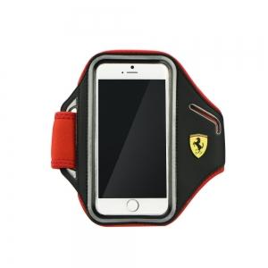 Pouzdro Ferrari iPhone 6, 6S (4,7) Armband FESCABP6BK černá