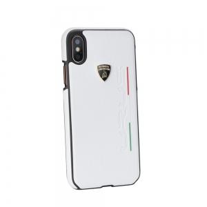 Pouzdro Lamborghini iPhone 7, 8, SE 2020  (4,7) URUS-D2 Back Cover LB-HCIP8-UR/D2-WE bílá