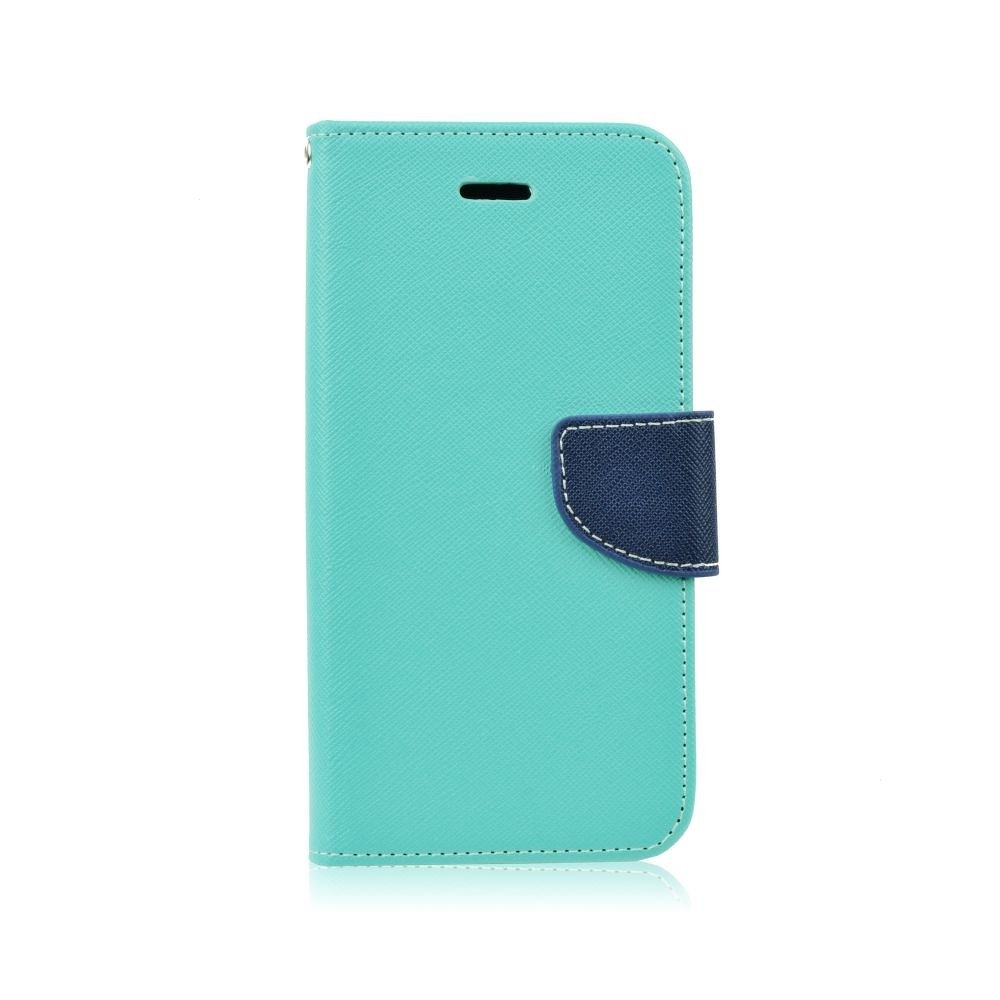 Pouzdro FANCY Diary TelOne Huawei P SMART (2019) barva světle modrá/modrá