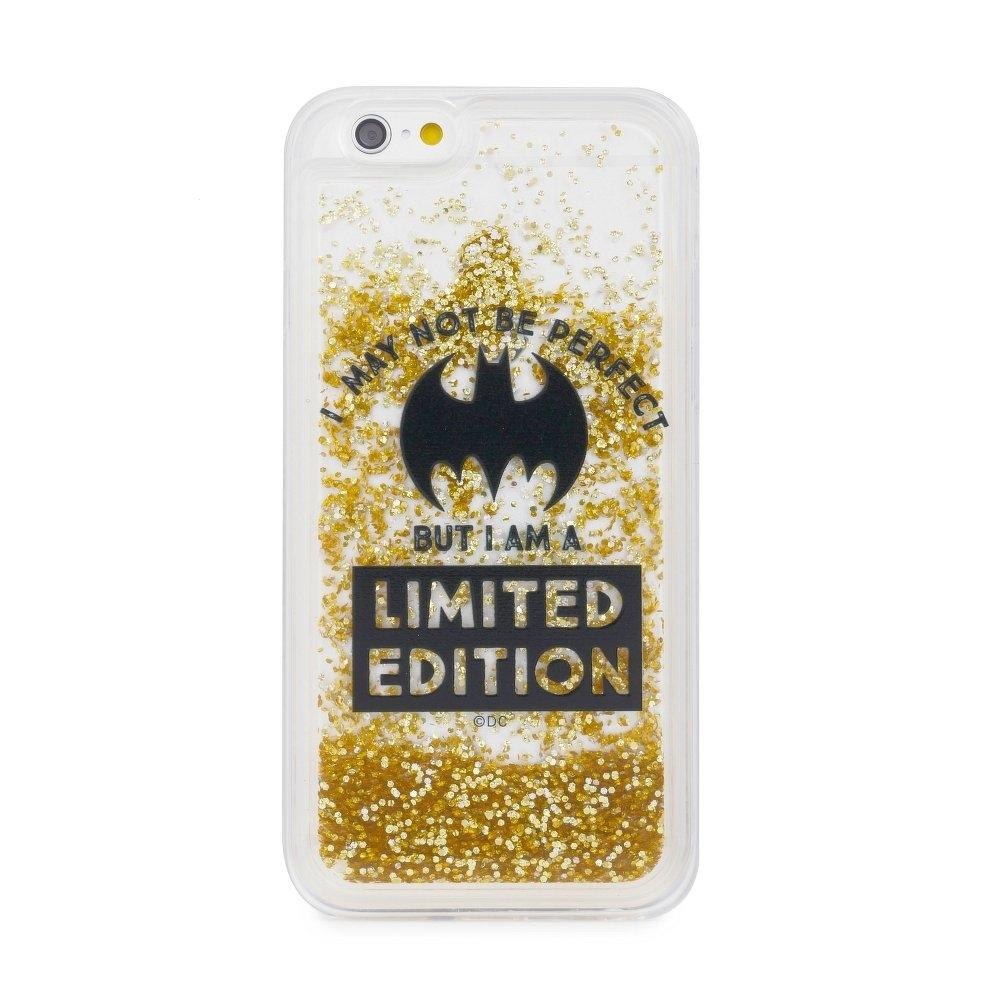 Pouzdro iPhone 7 PLUS, 8 PLUS (5,5) Batman Bat Girl Gold Sand vzor 007
