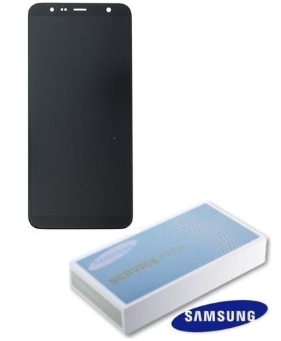 Dotyková deska Samsung J415 Galaxy J4 PLUS (2018), J610 Galaxy J6 PLUS (2018) + LCD black Service Pack - originál