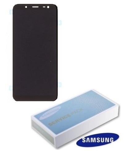Dotyková deska Samsung J600 Galaxy J6 (2018) + LCD black Service Pack - originál