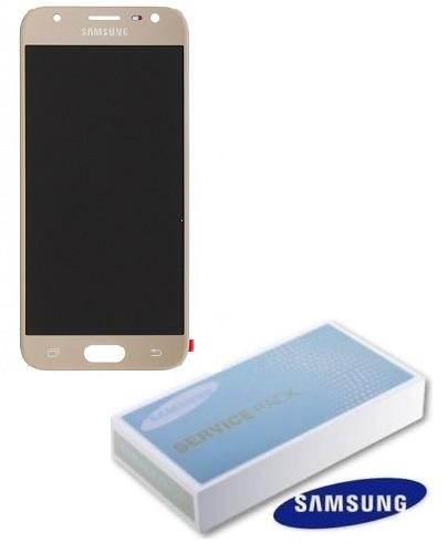 Dotyková deska Samsung J330 Galaxy J3 (2017) + LCD gold Service Pack - originál