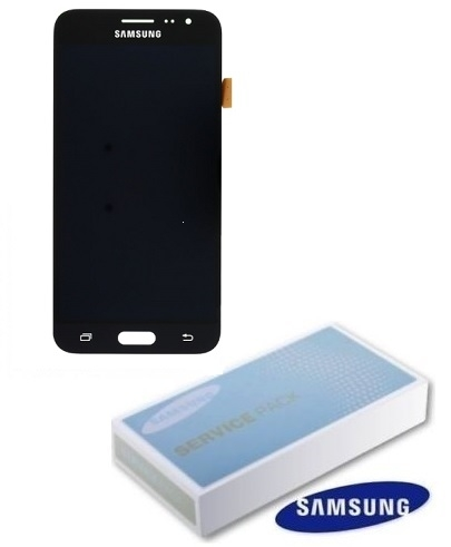 Dotyková deska Samsung J320 Galaxy J3 (2016) + LCD black Service Pack - originál