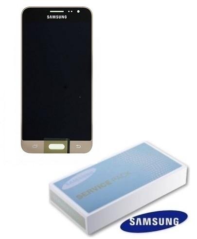 Dotyková deska Samsung J320 Galaxy J3 (2016) + LCD gold Service Pack - originál