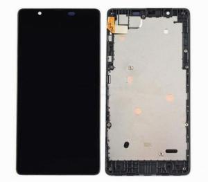 Dotyková deska Nokia 540 Lumia + LCD s rámečkem černá