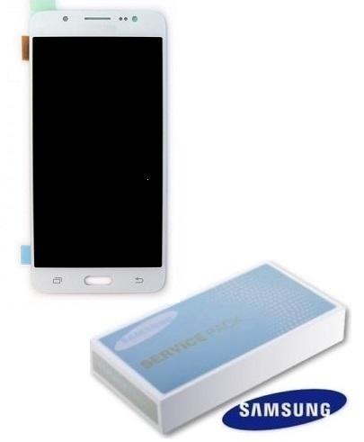 Dotyková deska Samsung J510 Galaxy J5 (2016) + LCD white Service Pack - originál