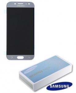 Dotyková deska Samsung J530 Galaxy J5 (2017) + LCD silver Service Pack - originál