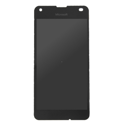 Dotyková deska Nokia / Microsoft 550 Lumia + LCD s rámečkem černá