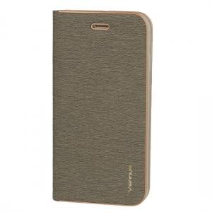 Pouzdro LUNA Book iPhone X, XS (5,8) barva šedá