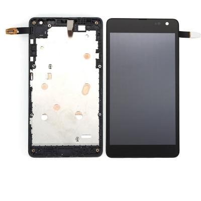 Dotyková deska Nokia / Microsoft 535 Lumia verze: 1973 (2S) + LCD s rámečkem černá