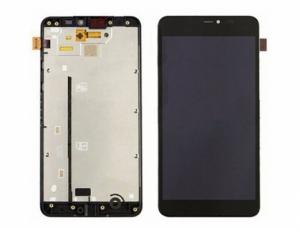 Dotyková deska Nokia 640 XL Lumia + LCD s rámečkem černá