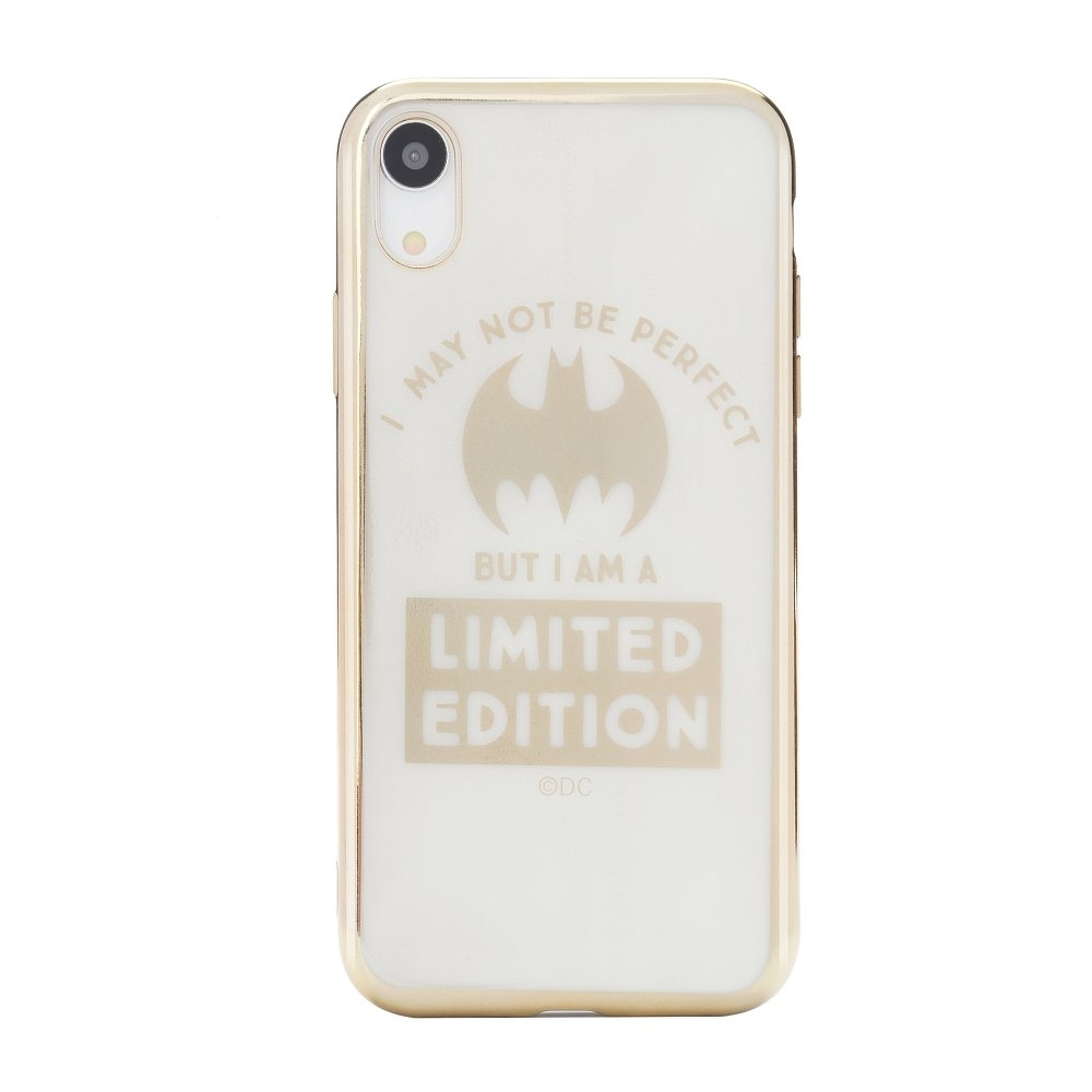 Pouzdro iPhone X, XS (5,8) Bat Girl Luxory Chrome vzor 005