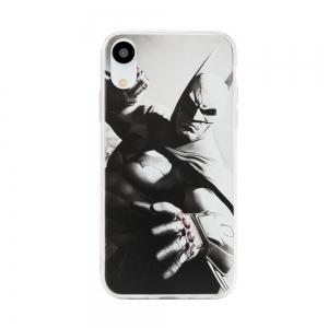 Pouzdro iPhone XS MAX (6,5) Batman Grey vzor 019