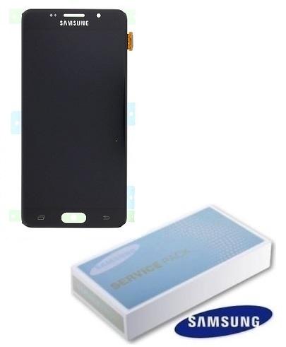 Dotyková deska Samsung A510 Galaxy A5 (2016) + LCD black Service Pack - originál