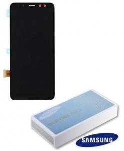 Dotyková deska Samsung A530 Galaxy A8 (2018) + LCD black Service Pack - originál