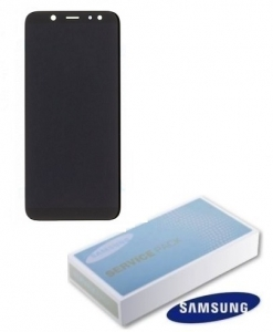 Dotyková deska Samsung A600 Galaxy A6 (2018) + LCD black Service Pack - originál