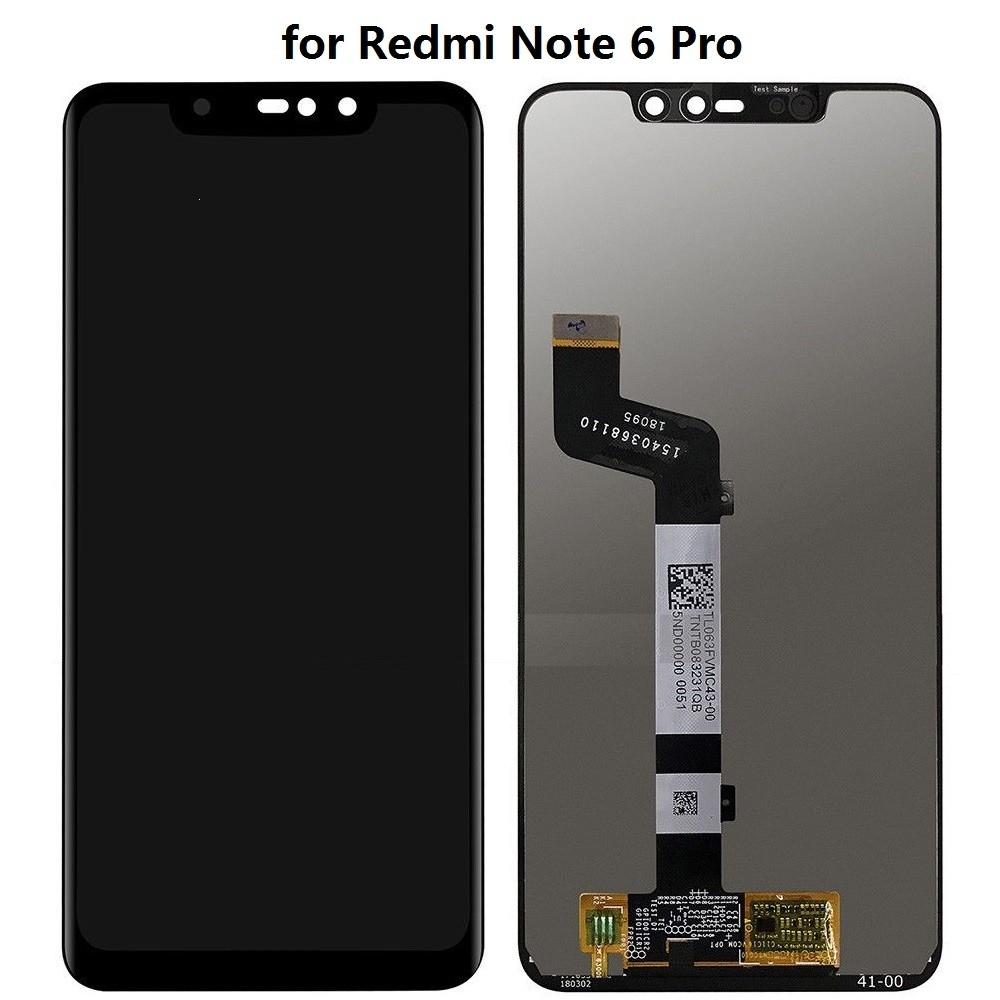 Dotyková deska Xiaomi Redmi NOTE 6 PRO + LCD černá