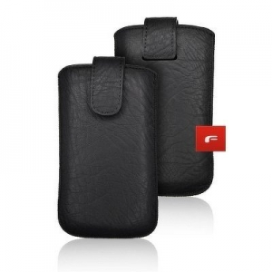 Pouzdro KORA 2 iPhone 12 Mini, 6, 7, 8 Samsung i9300 Galaxy S3, i9500, A3 barva černá