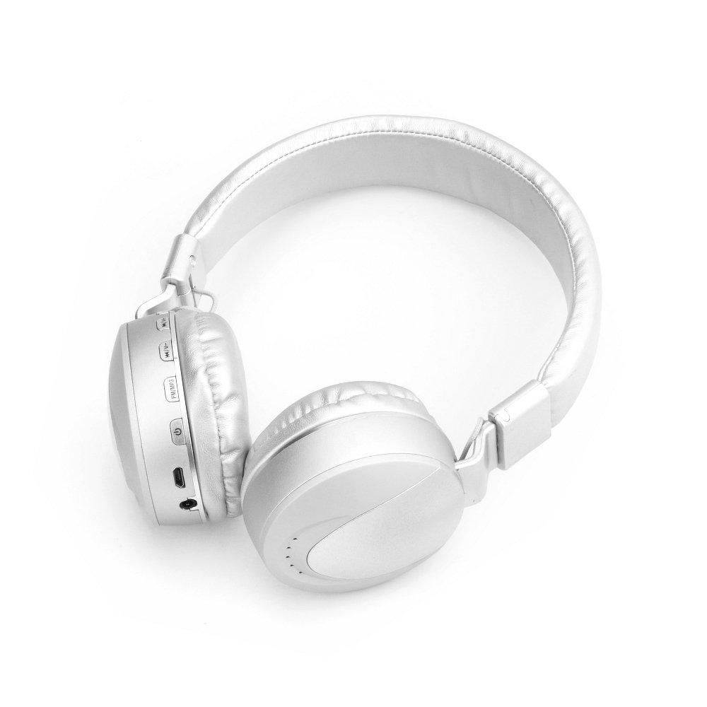Bluetooth headset MS-K9 barva stříbrná