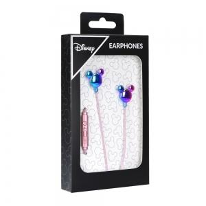 Hands Free Disney Mickey mouse 3,5 mm jack, barva růžová