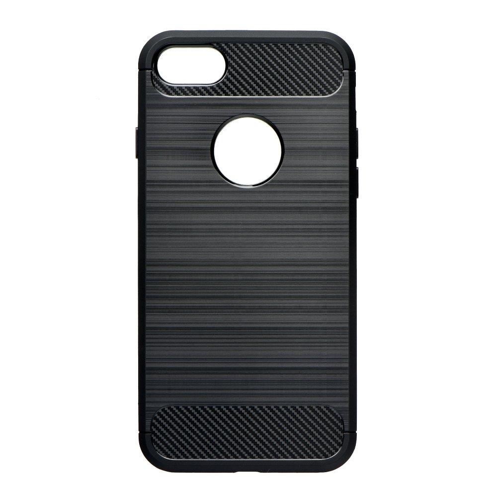 Pouzdro Forcell CARBON Huawei P30 Lite černá