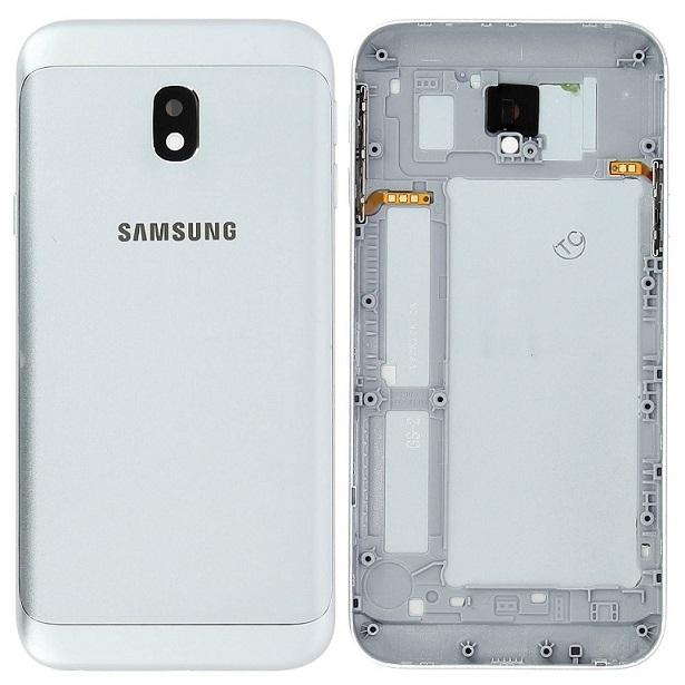Samsung J330 Galaxy J3 (2017) kryt baterie modrá/stříbrná
