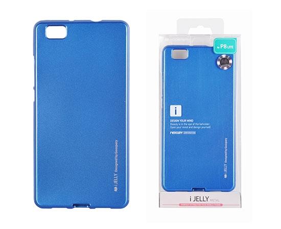 Pouzdro MERCURY i-Jelly Case METAL Huawei P30 PRO modrá