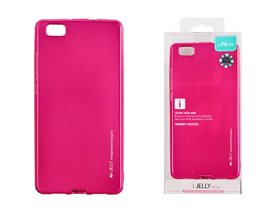 Pouzdro MERCURY i-Jelly Case METAL Huawei P30 růžová