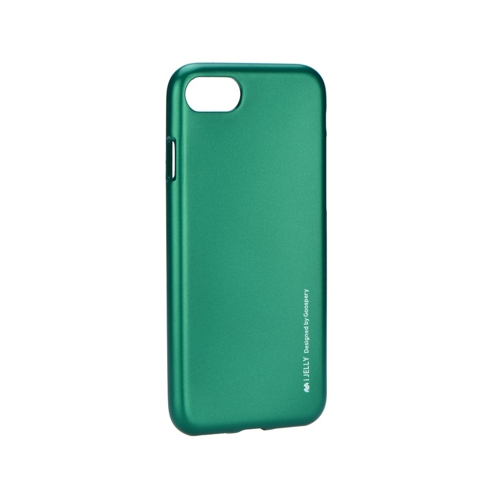 Pouzdro MERCURY i-Jelly Case METAL Samsung A750 Galaxy A7 (2018) zelená