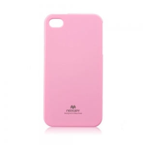 Pouzdro MERCURY Jelly Case Samsung G973 Galaxy S10 světle růžová