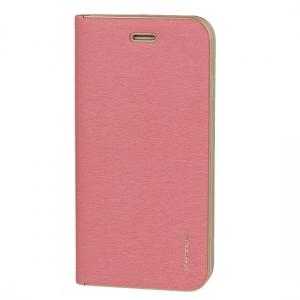 Pouzdro LUNA Book Huawei MATE 20 barva růžová
