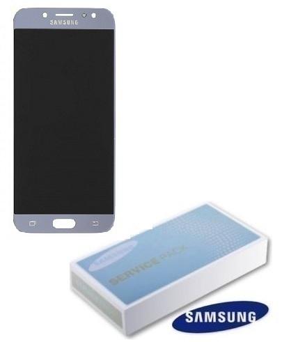 Dotyková deska Samsung J730 Galaxy J7 (2017) + LCD silver Service Pack - originál