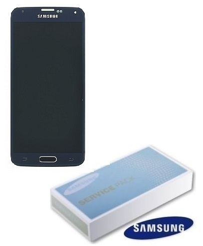 Dotyková deska Samsung G900 Galaxy S5 + LCD black Service Pack - originál