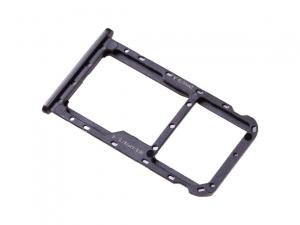 Držák (šuplík) SIM Huawei MATE 10 LITE černá