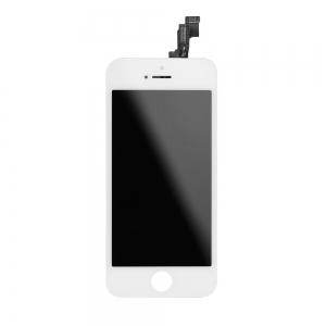 Dotyková deska iPhone 5S, SE + LCD bílá originál