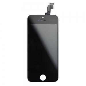 Dotyková deska iPhone 5S, SE + LCD černá originál