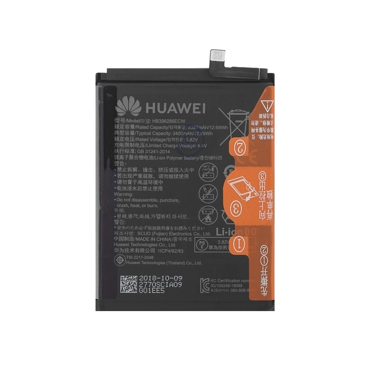 Baterie Huawei HB396286ECW 3320mAh Li-ion originál (bulk) - Honor 10 lite, P Smart 2019
