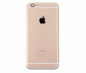 Kryt baterie + střední iPhone 6 4,7 originál barva gold