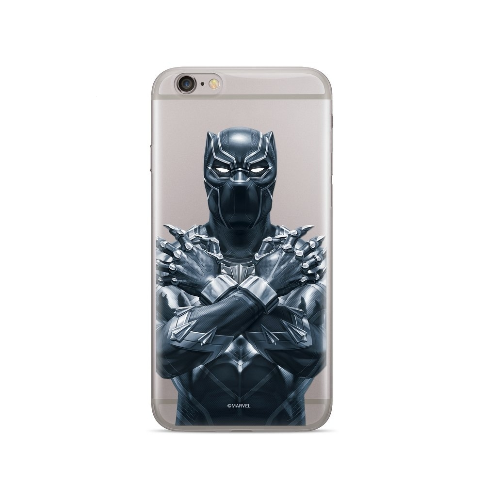 Pouzdro iPhone X, XS (5,8) MARVEL Black Panther vzor 012